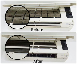Thumb aircon cleaning before and after a